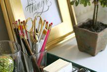 Office/ Studio / Organizing & Styling the Mundane