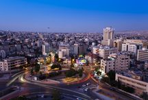 Amman - Jordan's Capital / Amman perfectly straddles the line between ancient and modern, with a Roman Theatre and ancient Citadel right in the heart of an increasingly metropolitan city.