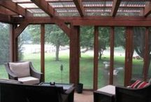 Screened porch / by Kimberly Grosse