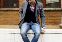 Men's fashion, conservative / by Olivia Ogren-Hrejsa