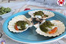 Pesci e molluschi Pinterest