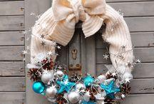 Bożonarodzeniowe inspiracje / pomysły na ozdoby świąteczne