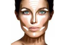 Makeup skuggning