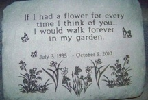 Memory rock garden