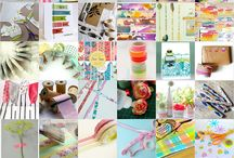 Washi tape / Ideas for usage of the washi tape