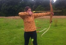 Archery / Archery is held at Cobbs Cross Farm and is run as a half day activity for groups of four or more. All ages from about nine upwards. Suitable for Schools, Youth groups, Stag and Hen Parties and so on.