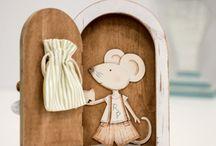 Puerta ratón dientes