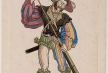 Medieval Mens Hose, Doublet and Jerkin