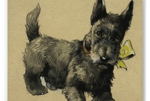 Scotties are Heaven / Scottish terriers with some Westhighlands thrown in for good measure.