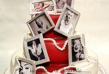 Marilyn Monroe cakes