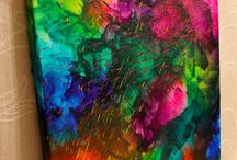 Crayon art / Melted crayons into amazing works of art!