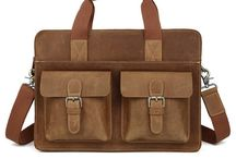 "Vintage Leather Laptop Bags 14"""