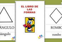 Figuras geométricas / by Escuela en la Nube
