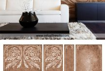 Wallcovering from Affreschi & Affreschi / Luxurious designs for wallcovering, ceiling and floors