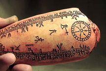 Viking - Runer - Runes and symbols / Runes, symbols, patterns.