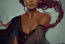 Descendants | Emaery / Déesse de la Nuit,de l'ombre. Déesse qui insuffla autrefois leur Dimentys aux premiers Lumynoth.