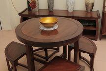 Đồ gỗ nội thất bàn ghế ăn gỗ tự nhiên /  Thiết kế sản xuất đồ gỗ nội thất bàn ăn gỗ tự nhiên phong cách hiện đại tại Hà Nội