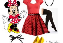 Mickey & Minnie Mouse / by Kimberly B.