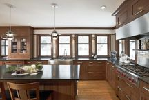 KItchen Ideas / Like the stainless steel!!