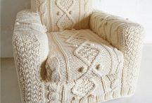 Knitted furniture Covers