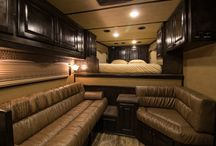 Trailer of the Week XP 11025 / Outlaw Conversions custom living quarters, horse trailer premier interiors. outlawconversions.com