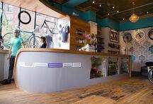 Bicycle shop designs