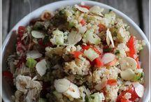 Taboulé de quinoa aux fines herbes