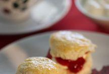Scones, Clotted Cream, Strawberryjam