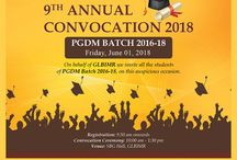 Convocation Ceremony to award Post Graduate Diploma in Management to students of PGDM Batch 2016-18