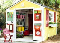 Sheds- a usable outdoor room!