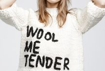 Wool we wear / For the love of wool...