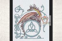Fantasy Cross Stitch Patterns