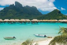 St Regis Bora Bora Resort / Here are some pictures from the Four Seasons Bora Bora website.  This Resort is Beautiful!