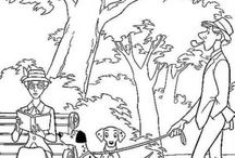 101 dalmatians coloring pages / 101 dalmatians coloring pages