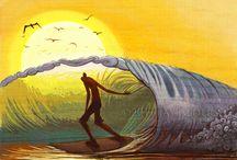 ondas e mar