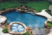 Swimming pools / Swimming pools I wish I had! #outdoorspaces #pools #askthehomediva  Askthehomediva.com