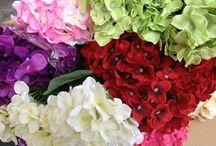 silk flower centerpiece