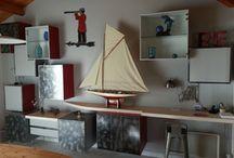 Meubles de salon / Fabrication de mobiliers de salon sur mesure et à votre style.