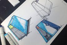 골머리 스케치 / Idea sketch