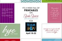 Printables/Fonts/Coloring Pages / by Nicole Miller