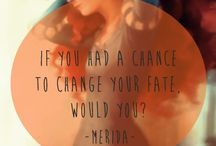 If ye could change yer fate.....