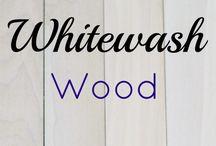 white wash boards *DIY *