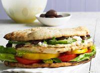 Healthy Edibles-Sandwiches / Sandwiches, Wraps, Burgers and Pitas / by Deborah G.
