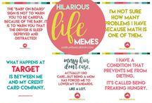 Funny life memes