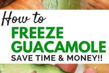 Freezing Guacamole