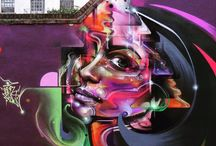 World of Urban Art : MR CENZ  [UK]