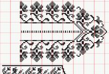 seccade kanavice sablonlari - prayer rug cross stitch crafts