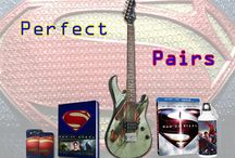 Perfect Pairs: Man of Steel / Must have items that go great together from the hit film Man of Steel! / by WBshop.com