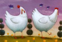 Chickens! / by Louise's Country Closet