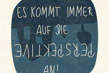 Zitate / Für die Kratzer auf der Seele ....